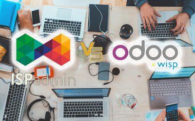 ISPadmin vs Odoo 4 Wisp, i gestionali pensati per i WISP a confronto