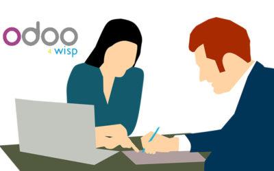 Odoo 4 Wisp, benvenuto wizard dei contratti